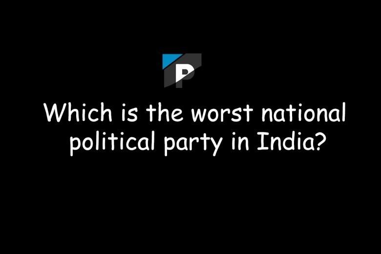 worst politicians in india