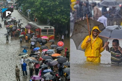 Mumbaikars Drenched Due To Heavy Rainfall