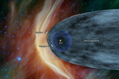 Voyager 2 nears Interstellar space after 41 years