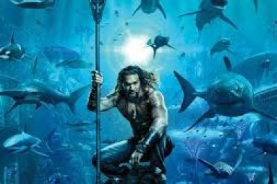 'Aquaman' Swims