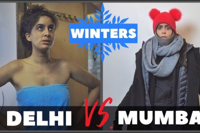 Mumbai VS Delhi in Winters - Rickshawali